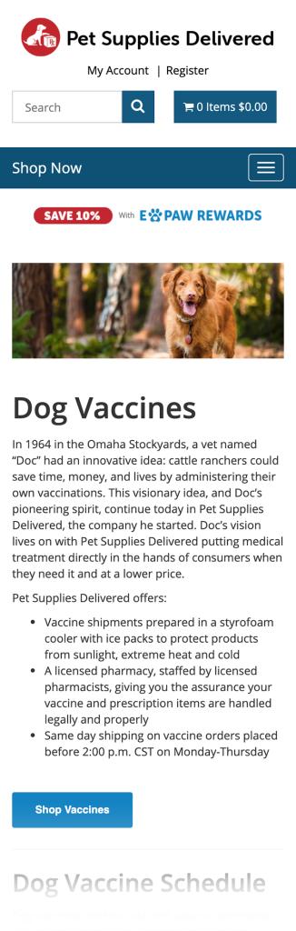 Pet Supplies Delivered Blog Post